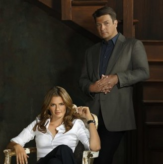 Castle and Beckett - how to write a screenplay